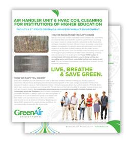 Greenair Higher Education Flyer Download