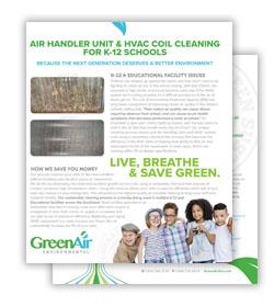 Greenair K-12 Schools Flyer Download